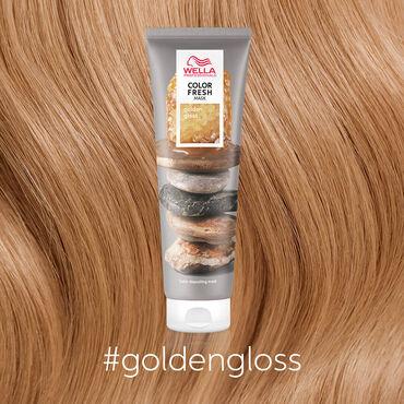 Wella Professionals Color Fresh Mask - Golden Gloss 150ml