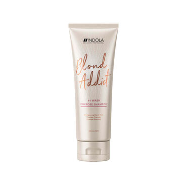 Indola Blond Addict Pink Rose Shampoo, 250ml