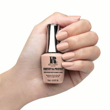 Red Carpet Manicure Fortify & Protect Gel Polish Ready For My Cameo 9ml