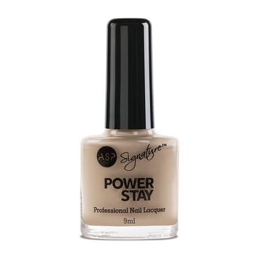 ASP Power Stay Professional Nail Lacquer - Bare Blush 9ml