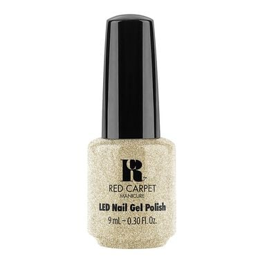 Red Carpet Manicure Gel Polish Fantasy Runway Collection - Gold Glitter 9ml