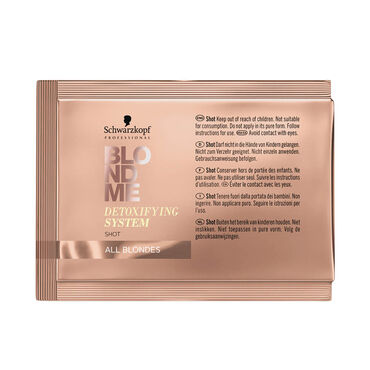 Schwarzkopf Professional Blondme Detox System Vita-C Shot 5 x 5g pack