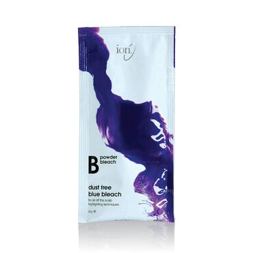 Ion Powder Bleach Dust Free Blue Bleach Sachet 50g