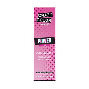 Crazy Color Power Pure Pigment Drops, Pink, 50ml