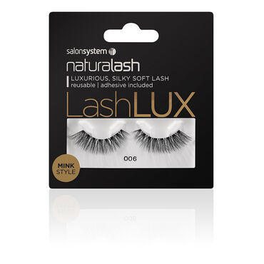 Salon System Naturalash Lashlux Strip Lash Mink Style 006