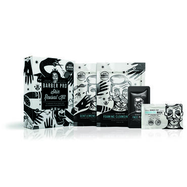 Barber Pro Skin Revival 4 Piece Set