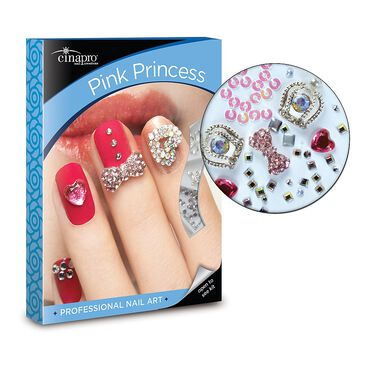Cina Pink Princess Nail Art Kit