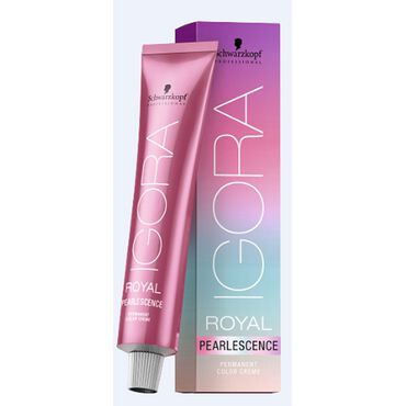Schwarzkopf Professional Igora Royal Pearlescence Permanent Hair Colour - 6-89 Dark Blonde Magenta 60ml