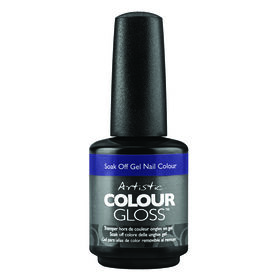 Artistic Caution: Extremely Hot Collection Colour Gloss Gel Polish Serving Up Sass 15ml