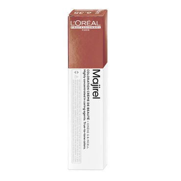 L'Oréal Professionnel Majirel Permanent Hair Colour - 4.35 Golden Mahogany Brown 50ml