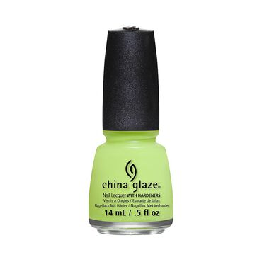 China Glaze Nail Lacquer City Flourish Collection - Grass Is Lime Greene 14ml