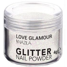 Nazila Fine Glitter Pigments - Holo White 4g