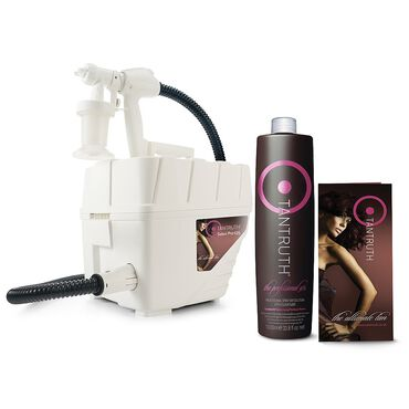 * Tantruth Pro-125 Spray Tanning Kit