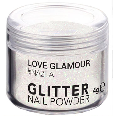 Nazila Fine Glitter Pigments - Holo White 5g