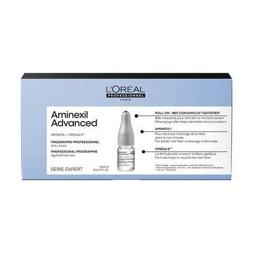 L'Oréal Professionnel Serie Expert Aminexil Advanced Professional Dual-Action Scalp & Anti-Thinning Treatment 10x6ml