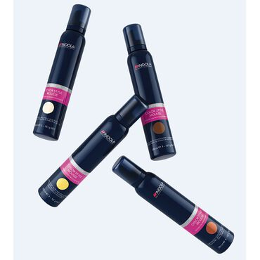 Indola Color Style Mousse - Medium Brown 200ml