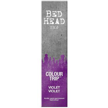 TIGI Bed Head Colour Trip Semi-Permanent Hair Colour - Violet 90ml