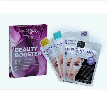 Skin Republic Beauty Booster Face Mask Gift Set Pack of 4