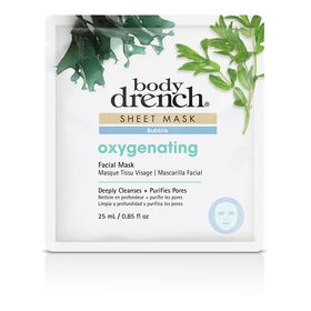 Body Drench Blue Bubble Oxygenating Sheet Facial Mask 25ml