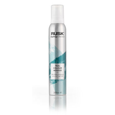 * Rusk Styling Collection Colour Mousse - Teal 200ml