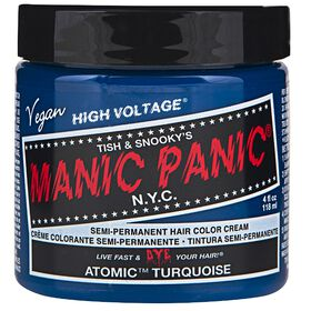 Manic Panic Semi Permanent Hair Colour - Atomic Turquoise 118ml