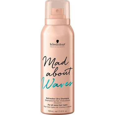 Schwarzkopf Professional Mad About Waves Refresher Dry Shampoo, 150ml