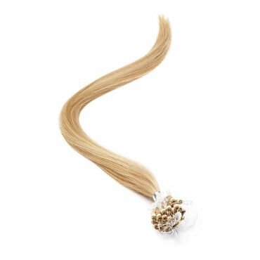 American Pride Micro Ring Human Hair Extension 18 Inch - 22/27 Light Bronze