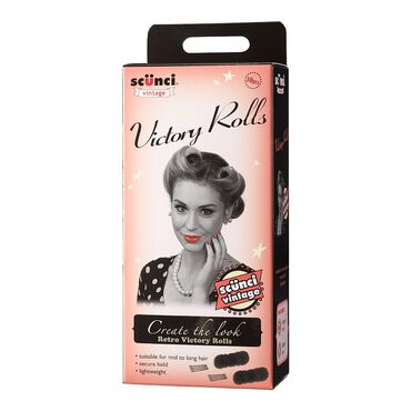 Scunci Vintage Victory Rolls