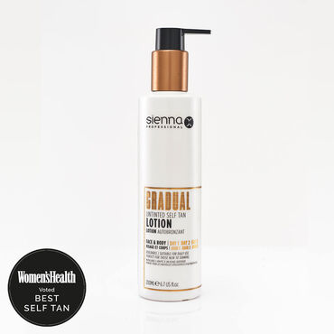 Sienna X Gradual Self Tan Lotion 200ml