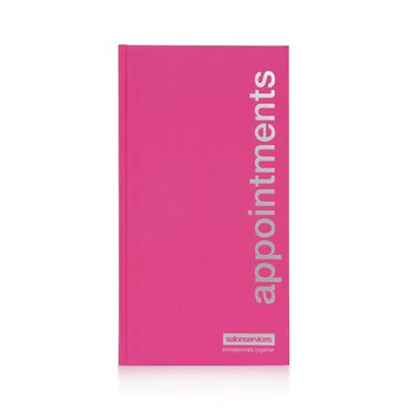 Salon Services Appointment Book - Pink