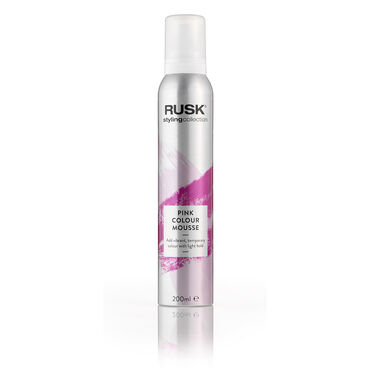 Rusk Styling Collection Colour Mousse - Pink 200ml