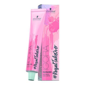 Schwarzkopf Igora Royal #ColorTakeOver Permanent Hair Colour Pastelfier 60ml