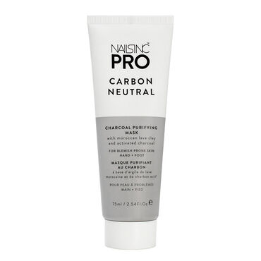 Nails Inc Pro Carbon Neutral Charcoal Mask 75ml