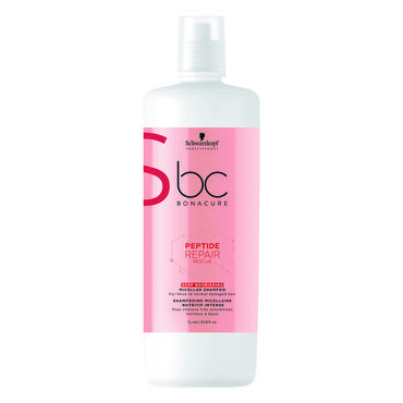 Schwarzkopf Professional Bonacure Peptide Hair Repair Rescue Deep Nourishing Shampoo 1L