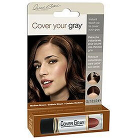 Fiske Cover Your Gray Semi Permanent Hair Colour - Light Brown/Black 14g