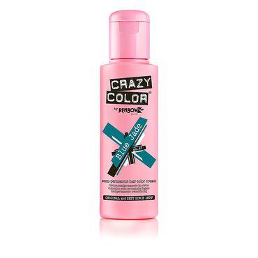 Crazy Color Semi Permanent Hair Colour Cream - Blue Jade 100ml