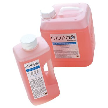 Mundo Pedi Spa and Bowl Disenfectant 2l