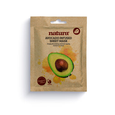 Natura Avocado Infused Sheet Mask 25ml