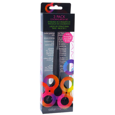 Framar Variety Hair Colour Brush Set - Pack of 3