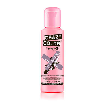 Crazy Color Semi Permanent Hair Colour Cream - Ice Mauve 100ml