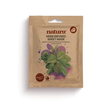 Natura Herb Infused Sheet Mask 25ml