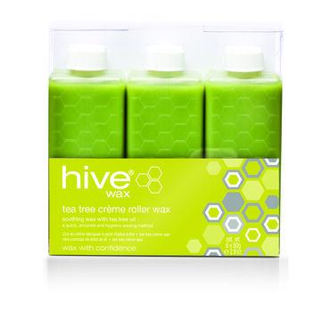Hive of Beauty Tea Tree Crème Wax Refills Pack of Six 80g