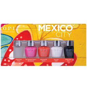 OPI Mexico City Collection Infinite Shine 5pc Mini Pack