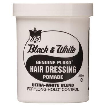 Black & White Original Hair Dressing Pomade 200ml