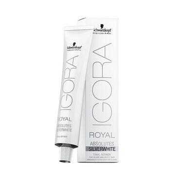 Schwarzkopf Professional Igora Royal Absolutes Silverwhite Demi-Permanent Hair Colour - Slate Grey 60ml