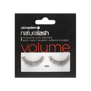 Salon System Naturalash Strip Lashes Volume 100