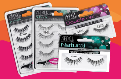 3 for 2 on Ardell Strip Lashes