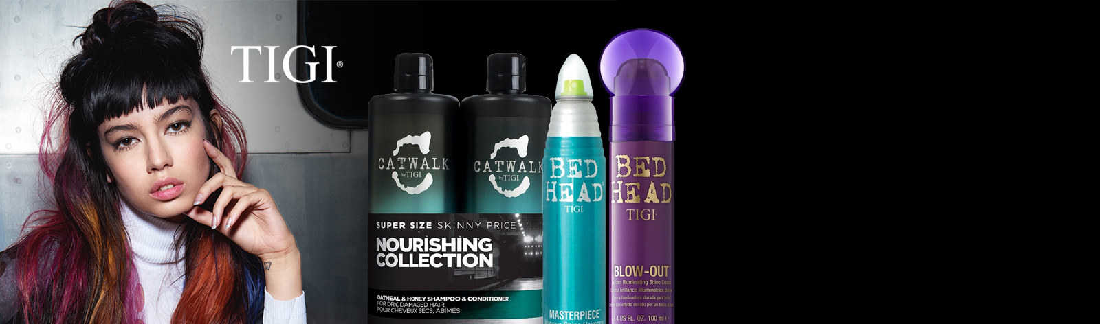Buy 2 and get 2 free on all TIGI products