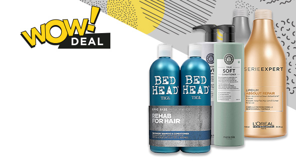 Buy 1 Get 50% off 2nd Shampoo & Conditioner. Including brands such as Serie Expert