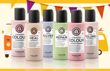 3 for 2 on Maria Nila Shampoo & Conditioner range